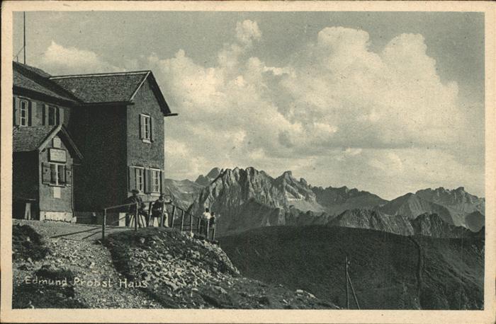 41323693 allgaeu region edmund probst haus am nebelhorn kempten postkarten ansichtskarten. Black Bedroom Furniture Sets. Home Design Ideas