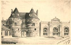 13561602 Dieppe_Seine-Maritime Les Vieilles Tours et le Theatre Dieppe Seine-Mar