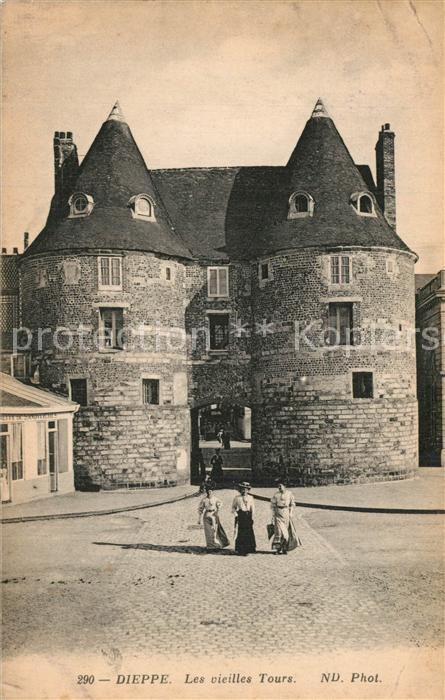 13582094 Dieppe_Seine-Maritime Les vieilles Tours Dieppe Seine-Maritime