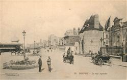 13573279 Dieppe_Seine-Maritime La rue Aguado Dieppe Seine-Maritime