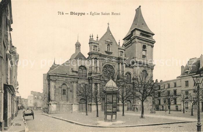 13584034 Dieppe_Seine-Maritime Eglise Saint Remi Dieppe Seine-Maritime