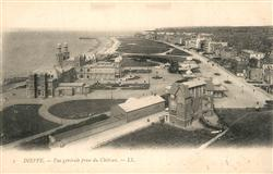 13603727 Dieppe_Seine-Maritime Vue generale prise du Chateau Dieppe Seine-Mariti