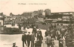 13618481 Dieppe_Seine-Maritime Le vieux Chateau vu de la Plage Dieppe Seine-Mari
