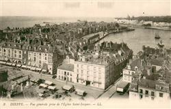 13665888 Dieppe_Seine-Maritime Vue générale prise de l'Eglise Saint Jacques Diep
