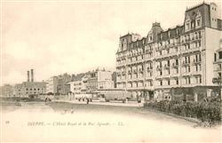 13665892 Dieppe_Seine-Maritime Hôtel Royal et la Rue Aguado Dieppe Seine-Maritim