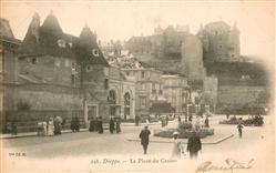 13666068 Dieppe_Seine-Maritime Place du Casino Château Dieppe Seine-Maritime