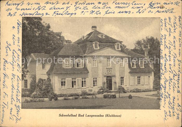 Fenster In Bad Langensalza : 32440986 Bad Langensalza Klubhaus Schwefelbad Bad Langensalza