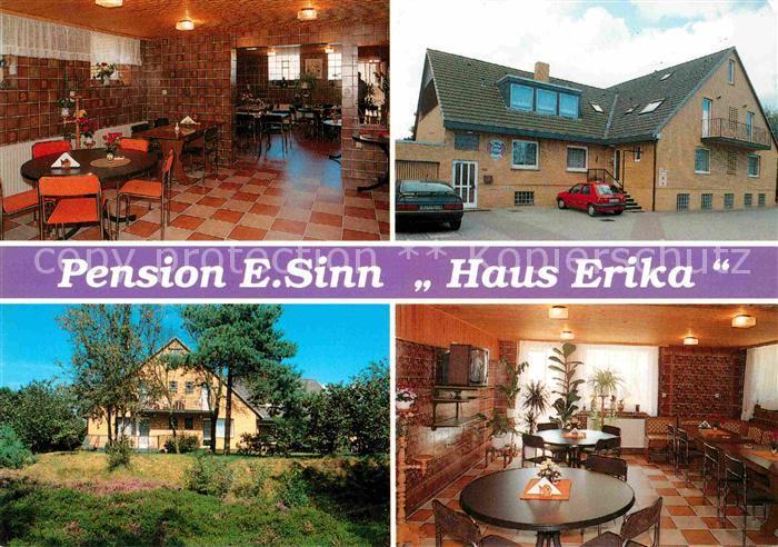 Sahlenburg Pension E Sinn Haus Erika Cuxhaven