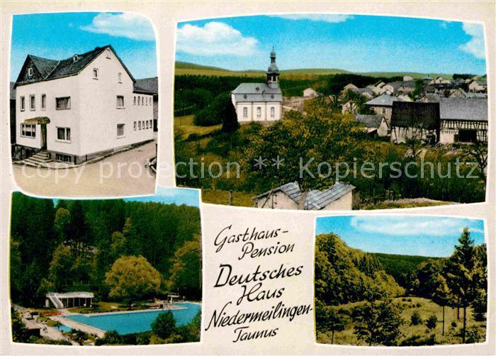 Niedermeilingen Gasthaus Pension Deutsches Haus
