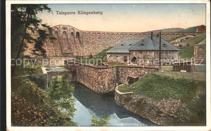 42208085-Klingenberg-Sachsen-Talsperre-Sperrmauer-Pretzschendorf