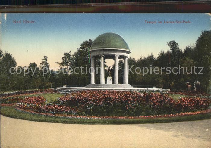 42237806 Bad Elster Tempel im Louisa See Park Bad Elster - Deutschland - Rücknahmen akzeptiert - Deutschland