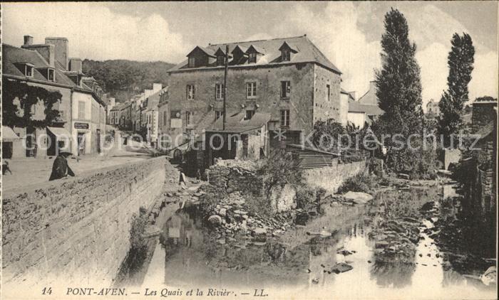 12546929 Pont-Aven Les Quais et la Riviere Pont-Aven - <span itemprop=availableAtOrFrom>79639, Deutschland</span> - Rücknahmen akzeptiert - 79639, Deutschland