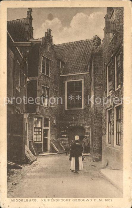 11794793 Middelburg Zeeland Kuiperspoort gebouwd 1609 Middelburg - 79639, Deutschland - Rücknahmen akzeptiert - 79639, Deutschland