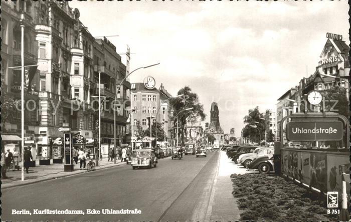 71928411 Berlin Kurfuerstendamm Ecke Uhlandstrasse Berlin