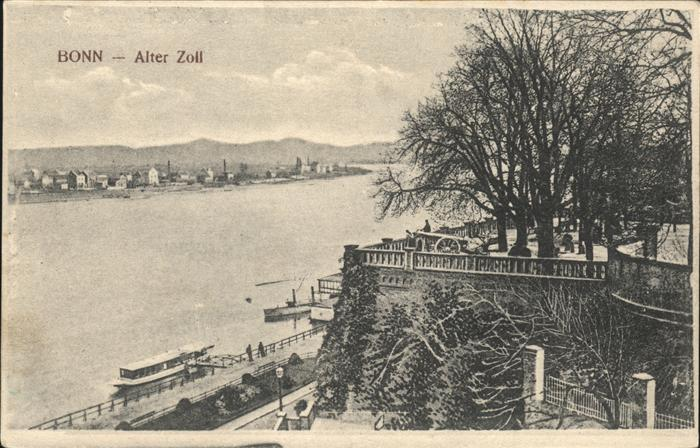 71471375 Bonn Rhein Alter Zoll Rhein Schiffe Bonn - Deutschland - Rücknahmen akzeptiert - Deutschland