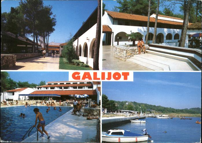 Kk57246 Porec Hotel Galijot Plava Laguna Schwimmbad Hafen