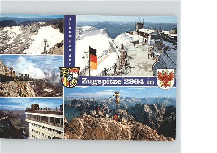 kk Zugspitze Muenchner Haus Schneeferner Gipfelbahn