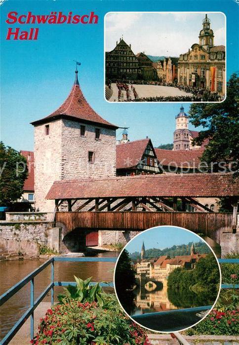 73232673 Schwaebisch_Hall Holzbruecke Schwaebisch Hall | eBay