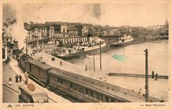 13477571 Dieppe_Seine-Maritime Hafen Panorama Dieppe Seine-Maritime
