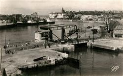 13491241 Dieppe_Seine-Maritime Le Port et le nouveau Pont Dieppe Seine-Maritime