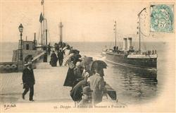 13491242 Dieppe_Seine-Maritime Entrée du Steamer France Dieppe Seine-Maritime