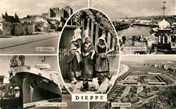 13491245 Dieppe_Seine-Maritime Chateau Bateau Lisieux Panorama Costumes Dieppe S