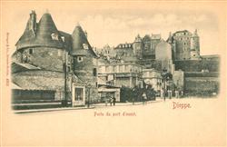 13492763 Dieppe_Seine-Maritime Porte du port d'ouest Dieppe Seine-Maritime