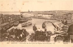 13519713 Dieppe_Seine-Maritime Port pris de l`Eglsie Saint Jacques Dieppe Seine-