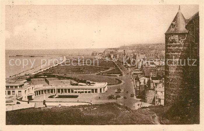 13534553 Dieppe_Seine-Maritime Vue sur la plage et le casino Dieppe Seine-Mariti
