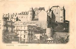 13527085 Dieppe_Seine-Maritime Château Schloss Dieppe Seine-Maritime