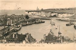 13529524 Dieppe_Seine-Maritime Steamer Arundel dans l'Avant Port Dieppe Seine-Ma