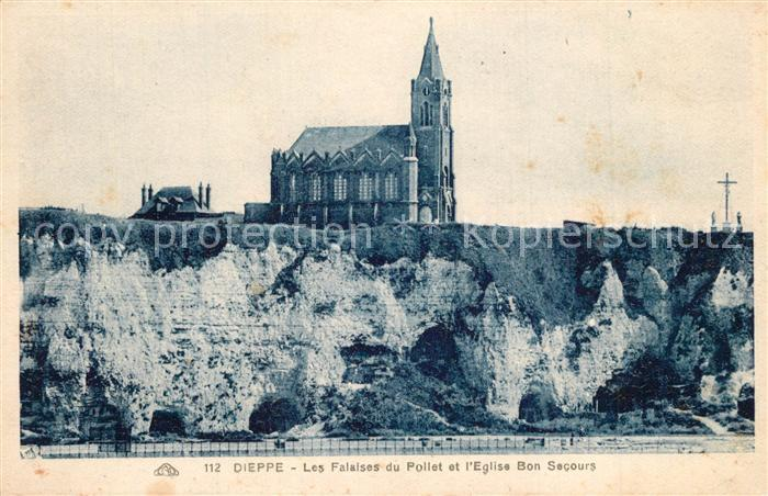 13544303 Dieppe_Seine-Maritime Eglise Bon secours Dieppe Seine-Maritime
