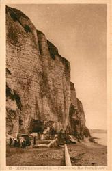 13543215 Dieppe_Seine-Maritime Falaise du bas Fort Blanc Dieppe Seine-Maritime