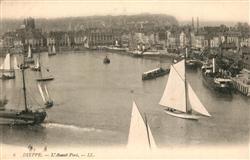 13548512 Dieppe_Seine-Maritime Avant Port Dieppe Seine-Maritime