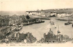 13558124 Dieppe_Seine-Maritime La Tamise dans l'Avant Port Dieppe Seine-Maritime