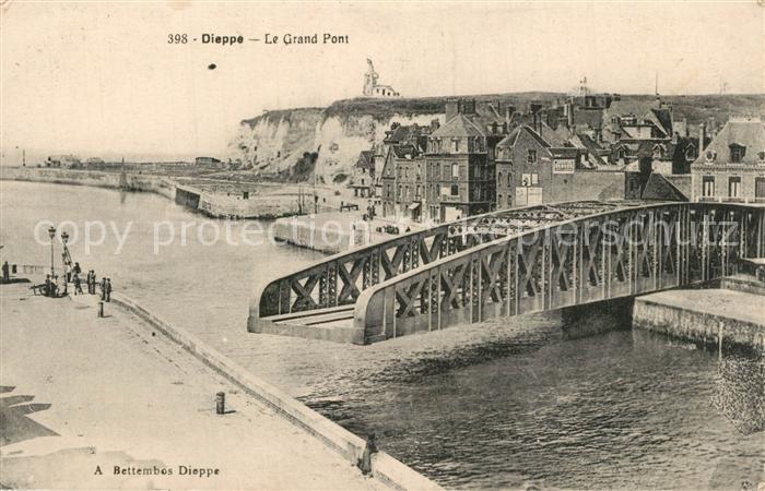 13572625 Dieppe_Seine-Maritime Le Grand Pont Dieppe Seine-Maritime