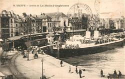 13594559 Dieppe_Seine-Maritime Arrivee de La Malle d'Angleterre Dieppe Seine-Mar