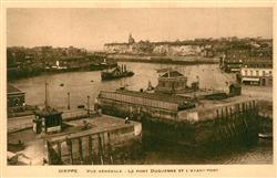 13605899 Dieppe_Seine-Maritime Pont Duquesne et l'Avant Port Dieppe Seine-Mariti