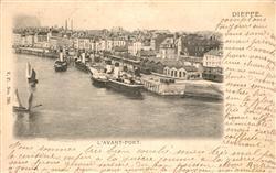 13608629 Dieppe_Seine-Maritime Avant Port Dieppe Seine-Maritime
