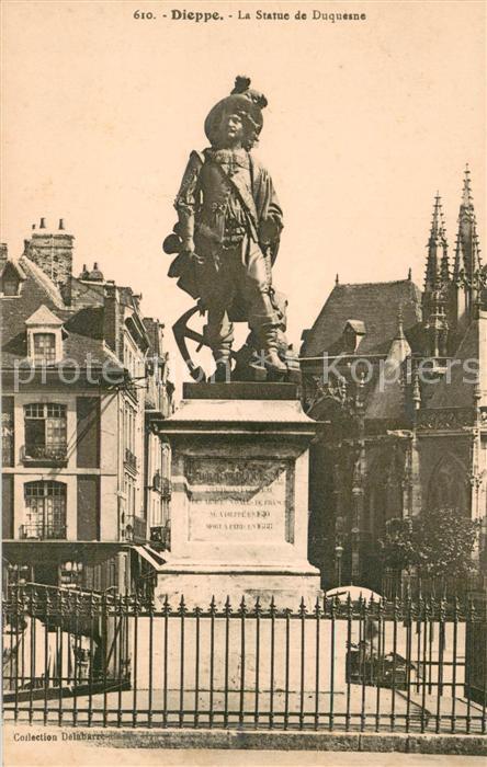 13619269 Dieppe_Seine-Maritime la Statue de Duquesne Dieppe Seine-Maritime