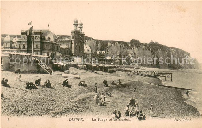 13621403 Dieppe_Seine-Maritime La plage et le casino Dieppe Seine-Maritime