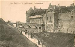13619268 Dieppe_Seine-Maritime Le Vieux Chateau Les Machicoulis Dieppe Seine-Mar