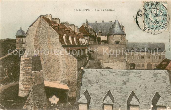 13640509 Dieppe_Seine-Maritime Vue du château Dieppe Seine-Maritime