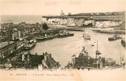 13640508 Dieppe_Seine-Maritime L'Arundel dans l'Avant Port Dieppe Seine-Maritime