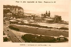 13640760 Dieppe_Seine-Maritime Le casino et les falaises Dieppe Seine-Maritime