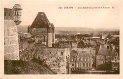 13632398 Dieppe_Seine-Maritime Vue générale prise du château Dieppe Seine-Mariti