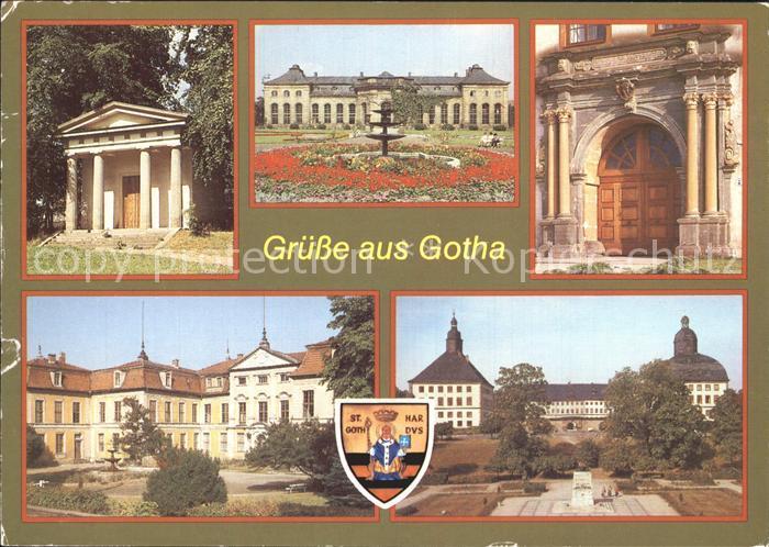 72379271 Gotha Thueringen Dorischer Tempel Orangerie Schloss Friedenstein Gotha - 79576, Deutschland - Rücknahmen akzeptiert - 79576, Deutschland