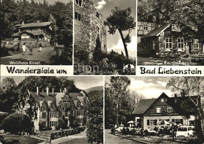 ks63919 Bad Liebenstein Waldhaus Kissel Schloss Altenstein Kat Bad