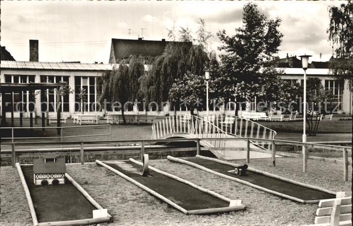 Bad Koenig Odenwald Kurgarten Spielanlage Wandelhalle Kat Bad Koenig