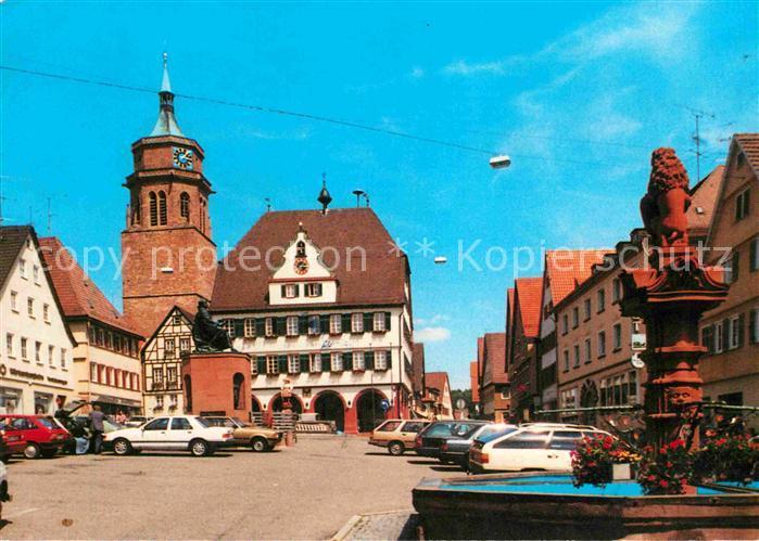 72650479 Weil der Stadt Platz mit Brunnen Weil der Stadt - <span itemprop=availableAtOrFrom>79576, Deutschland</span> - Rücknahmen akzeptiert - 79576, Deutschland